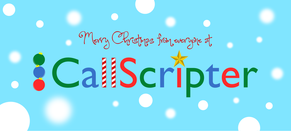 Merry Christmas from CallScripter